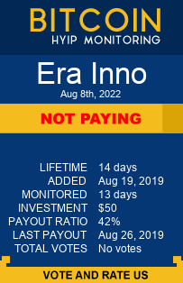 https://erainno.com//?ref=HyipMonitoring_biz monitoring by bitcoin-hyip-monitoring.com