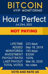 https://hourperfect.com/?ref=HyipMonitoring_biz bitcoin-hyip-monitoring.com