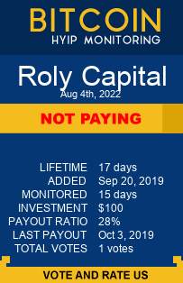https://rolycapital.com/?ref=HyipMonitoring_biz monitoring by bitcoin-hyip-monitoring.com