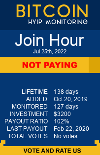 joinhour.com monitoring by bitcoin-hyip-monitoring.com