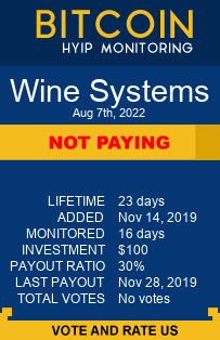 wine-systems.com bitcoin hyip monitor