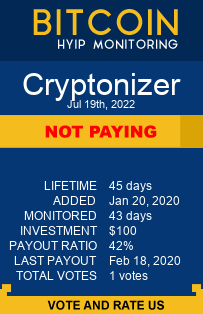 https://cryptonizer.cc/?ref=HyipMonitoring_biz monitoring by bitcoin-hyip-monitoring.com