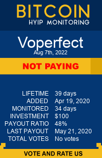 Voperfect bitcoin hyip monitor