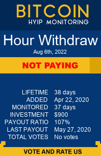 hourwithdraw.com monitoring by bitcoin-hyip-monitoring.com