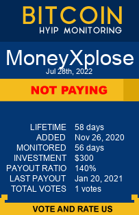 moneyxplose.com monitoring by bitcoin-hyip-monitoring.com