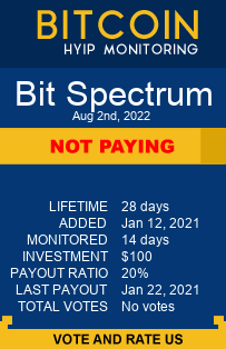bit-spectrum.com monitoring by bitcoin-hyip-monitoring.com
